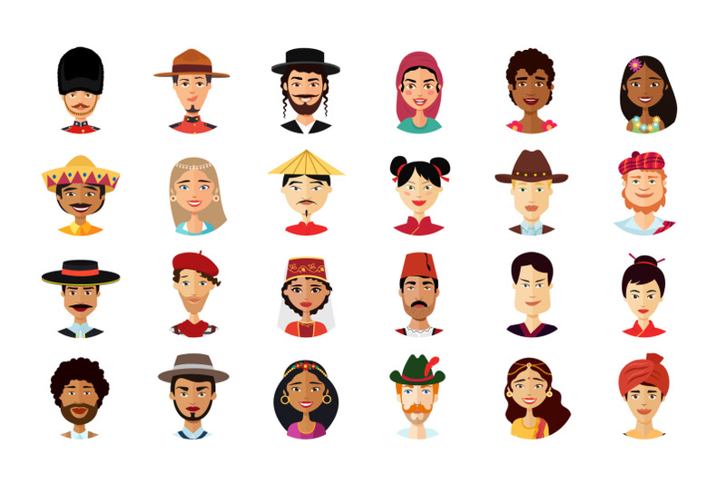 24 Multicultural National Avatar Pictures People Cartoon Flat - 800 3602209 4nkcaabbfku3zczeqglgjaqpy6f8zwlj9et72xkk 24 multicultural national avatars people cartoon flat