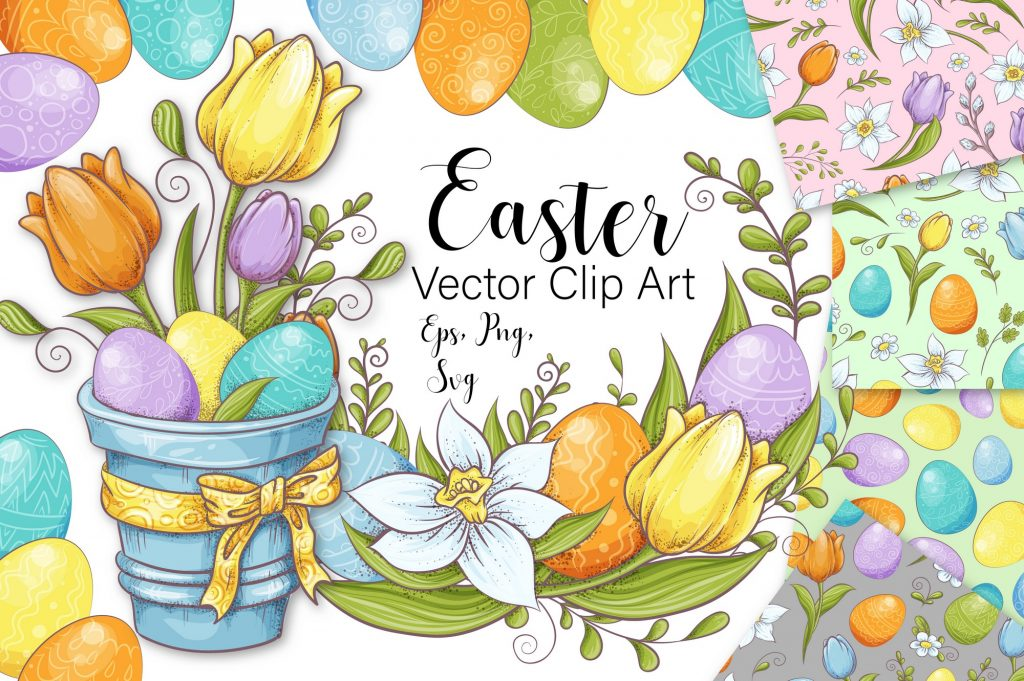 220 Best Easter Graphics in 2020: Free & Premium - Image00001