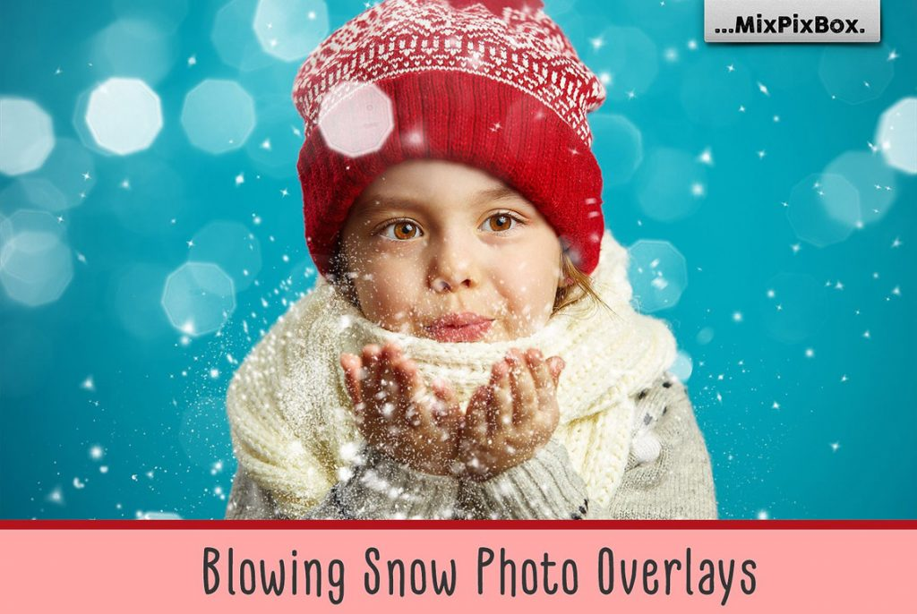 Huge Photo Editing Bundle - blowing snow first image