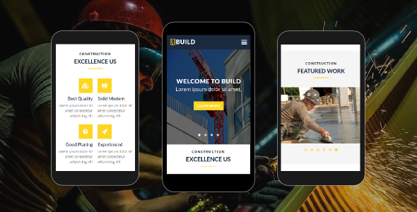 38+ Mobile Website Template Bundle: Themeforest Quality - build