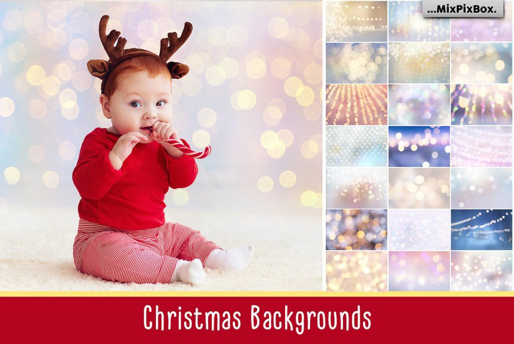 Huge Photo Editing Bundle - christmas backgrounds first image
