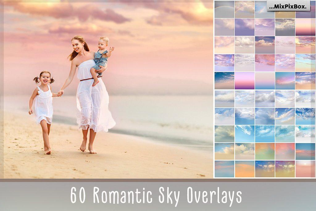 Romantic Sky Photo Overlays - $9 - cover 3