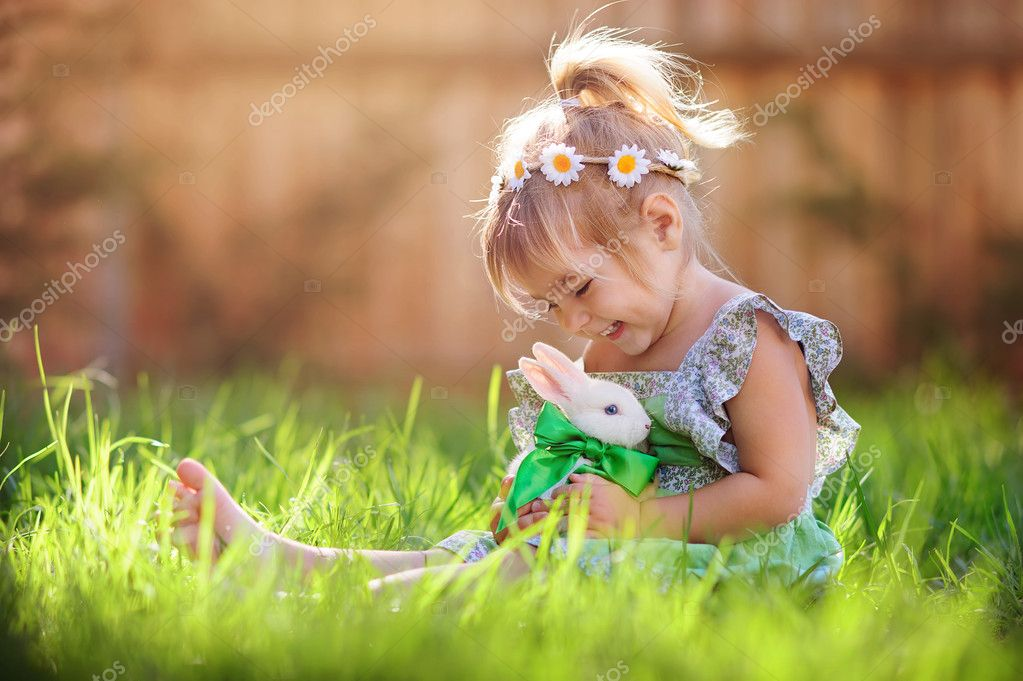 Easter Stock Photos & Images. Photo Deal: 100 Royalty-free Photos & Vectors – $69! - depositphotos 42166641 stock photo cute little girl with a