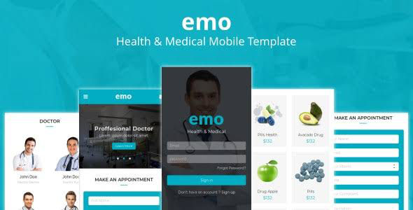 38+ Mobile Website Template Bundle: Themeforest Quality - emo