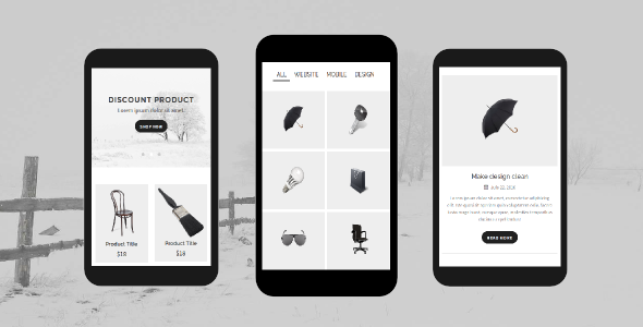 38+ Mobile Website Template Bundle: Themeforest Quality - folio
