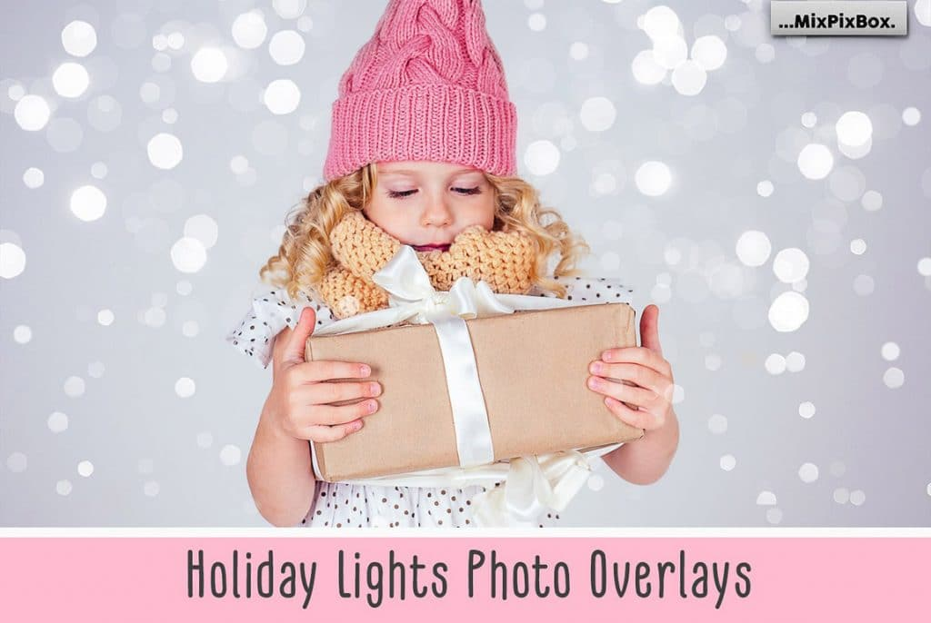Huge Photo Editing Bundle - holiday lights first image