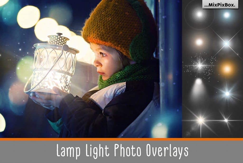 Huge Photo Editing Bundle - lamp lights first image