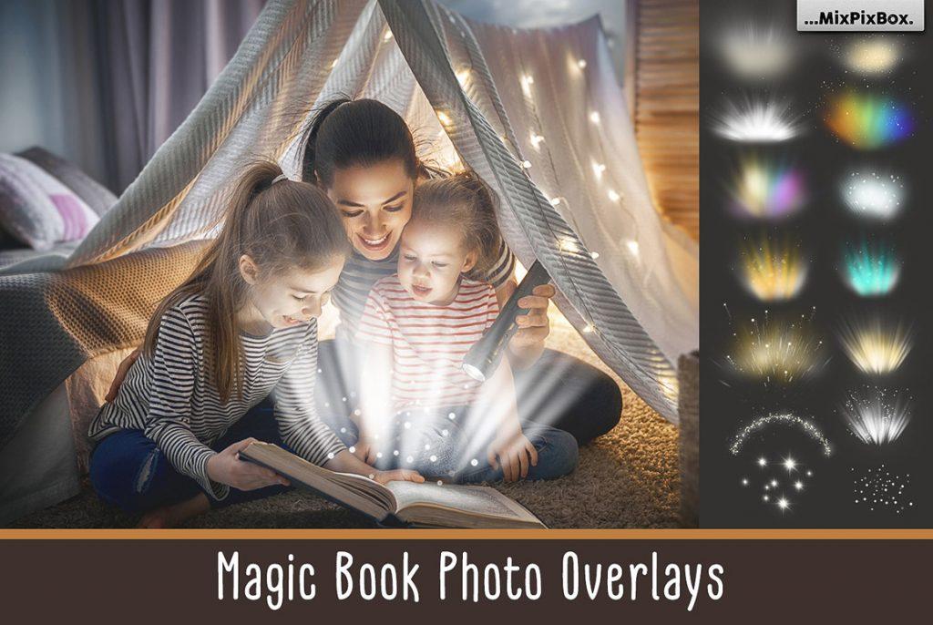 Huge Photo Editing Bundle - magic book first image