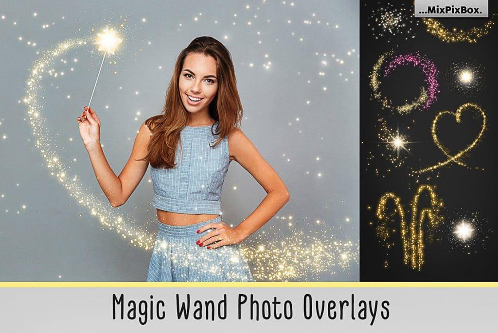 Huge Photo Editing Bundle - magic wand first image