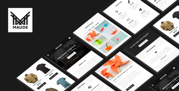 38+ Mobile Website Template Bundle: Themeforest Quality - maude