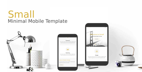38+ Mobile Website Template Bundle: Themeforest Quality - small