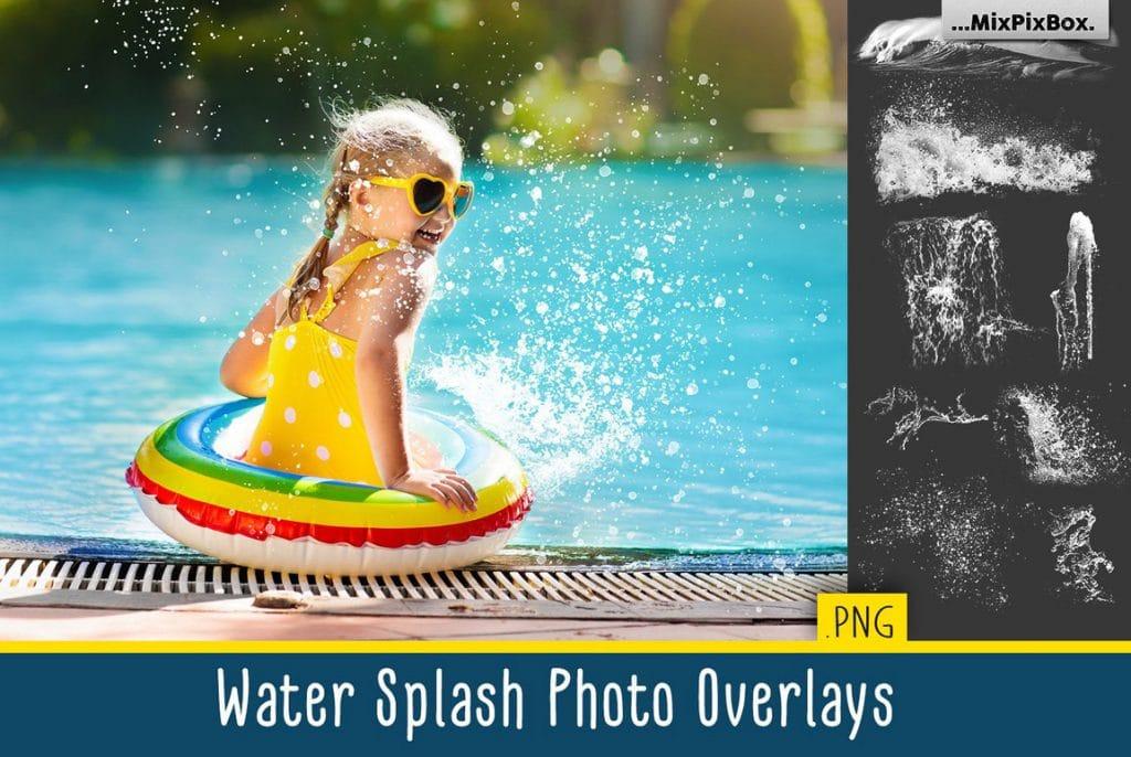 Huge Photo Editing Bundle - water splash first image