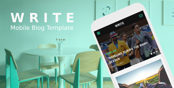 38+ Mobile Website Template Bundle: Themeforest Quality - write