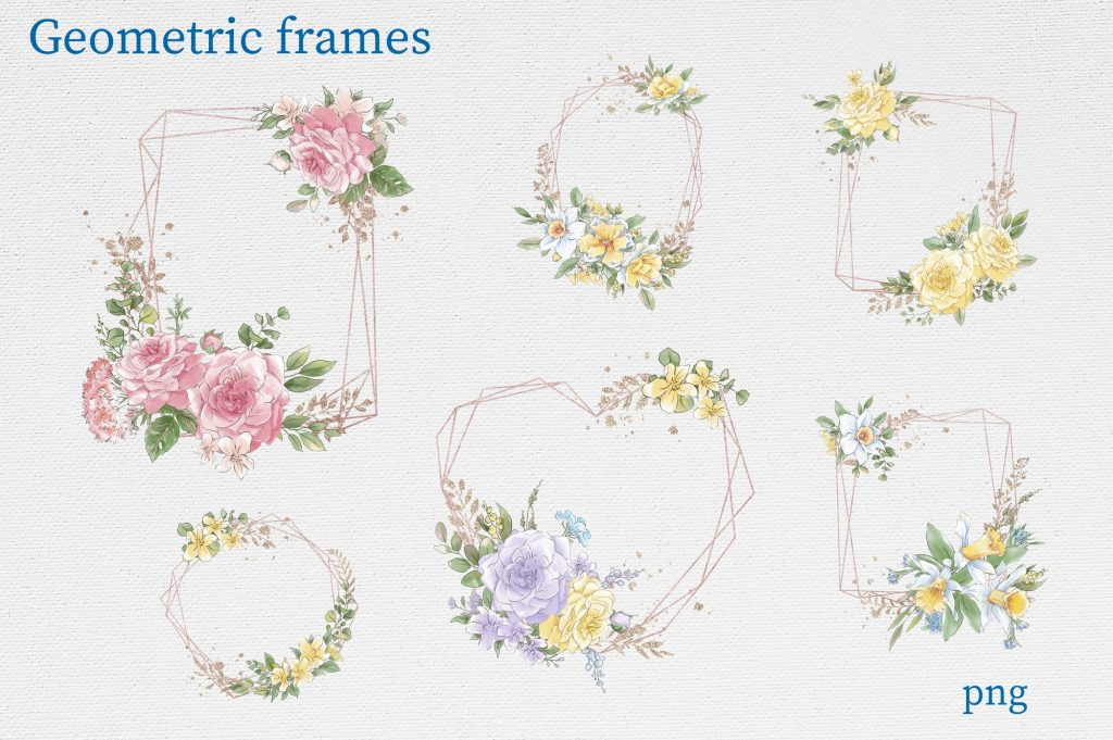 Delicate Spring Flowers - $27 - 10