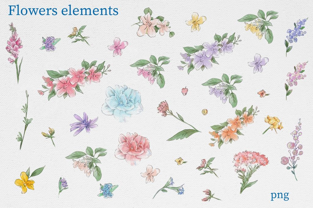 Delicate Spring Flowers - $27 - 12