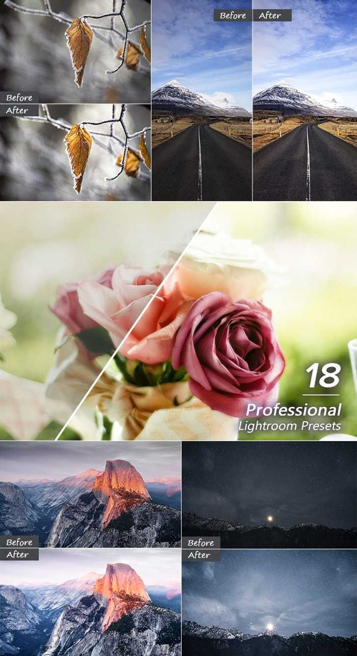 3000+ Perfect Lightroom Presets - 18 Professional LR Presets Large min