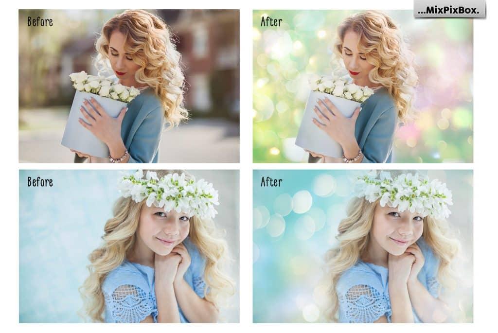 Spring Backdrops Photo Editing Tool - 2 8