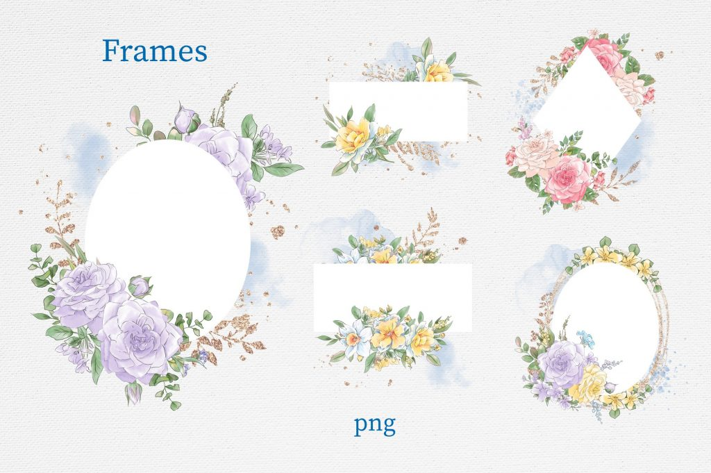 Delicate Spring Flowers - $27 - 3