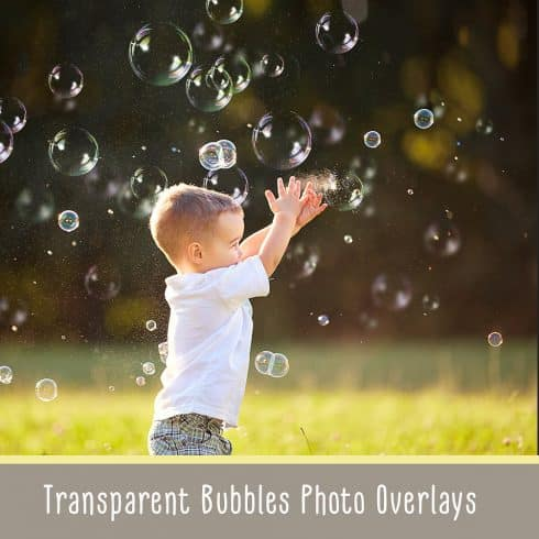 Transparent Bubble Overlays +brushes - $11 - 600 11 490x490