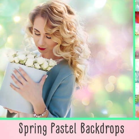 Spring Backdrops Photo Editing Tool - 600 3 490x490