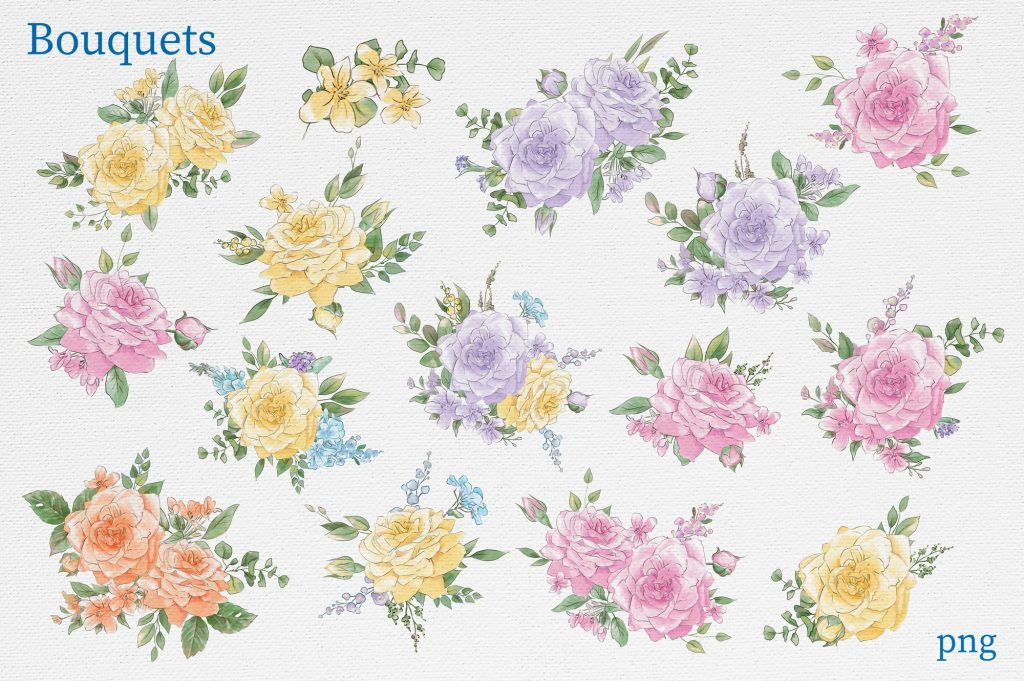 Delicate Spring Flowers - $27 - 8
