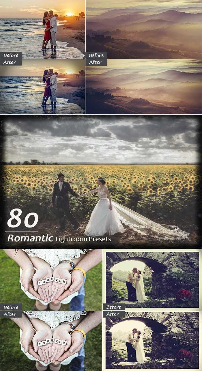 3000+ Perfect Lightroom Presets - 80 Romantic Presets Large min