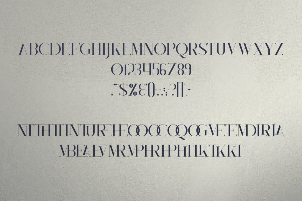 Monument All Caps Serif Font - $15 - 9 5