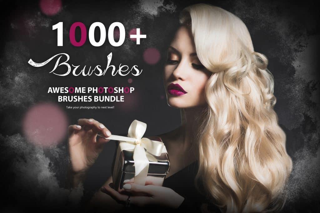1000+ Awesome Photoshop Brushes + 10 BRUSHES FOR FREE - Main