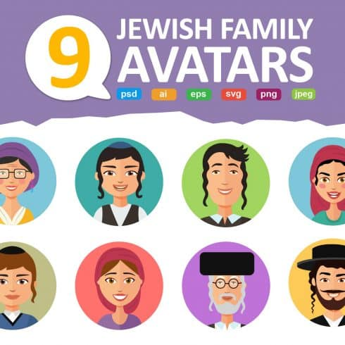 72 Avatar People Vector Icons Collection - Only $23!