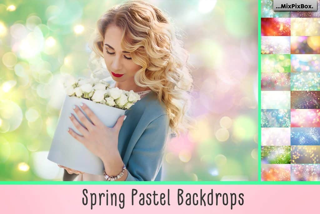 Spring Backdrops Photo Editing Tool - cover 1