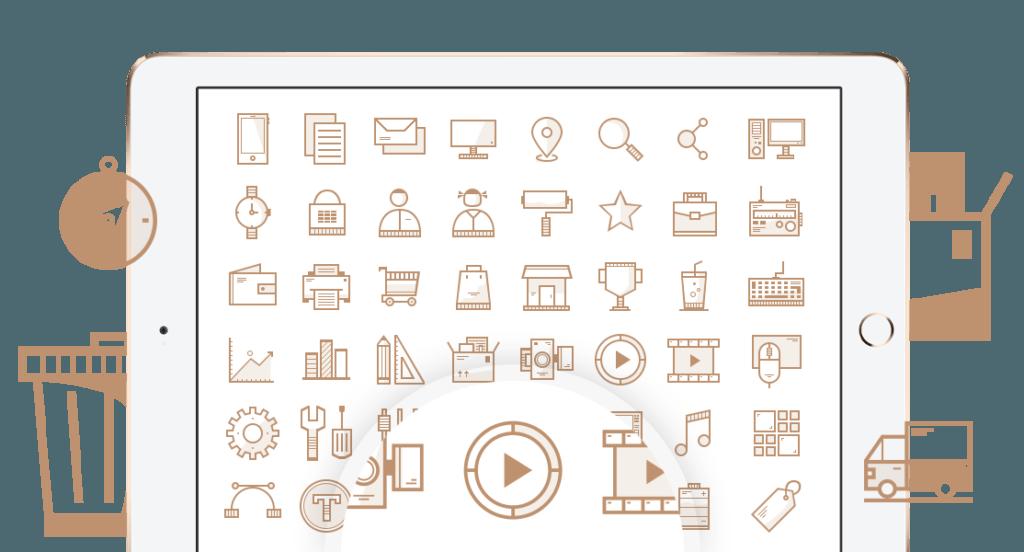 Minimalist WordPress Theme - $25 - icons 1024x552