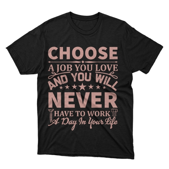 Minimalist T-shirt Design: 600 Mega Editable T-shirt Designs Bundle – 99% off - 1 71