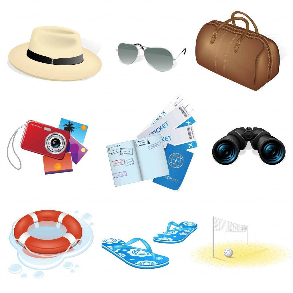 Travel Icon & Illustrations: Vacation Pack - $13 - 1061416