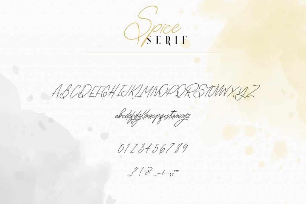 Sugar Spice Typography Bundle: fonts, frames, letters, backgrounds - 12 3