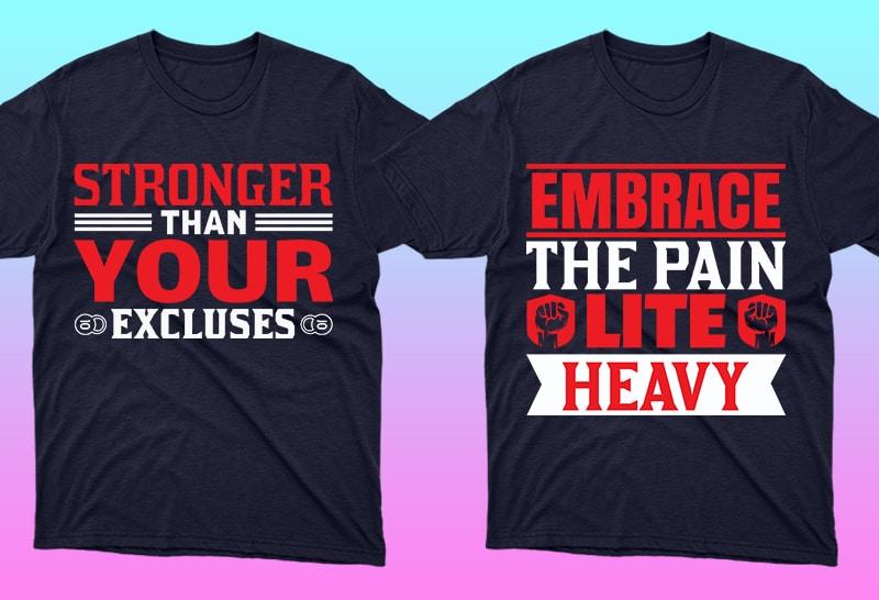 Minimalist T-shirt Design: 600 Mega Editable T-shirt Designs Bundle – 99% off - 13 6