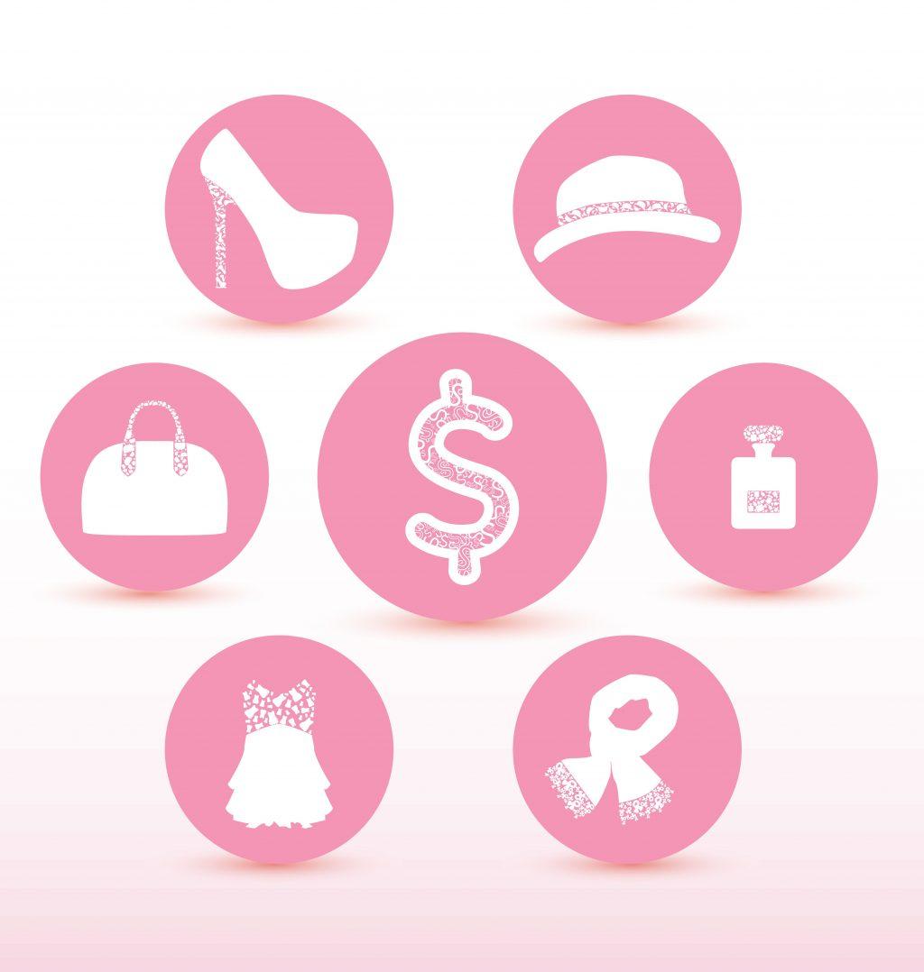 Fashion Illustration Bundle:  Clothing Business Icons and illustrations - 13078686