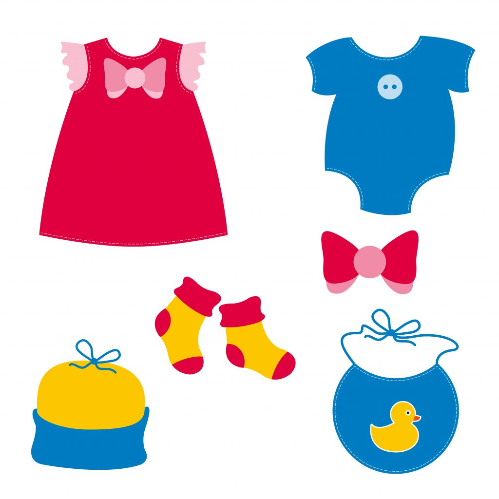 Fashion Illustration Bundle: Clothing Business Icons and illustrations - 13234442