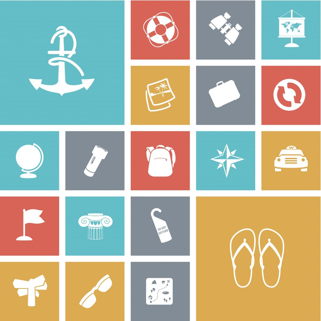 Travel Icon & Illustrations: Vacation Pack - $13 - 15151158