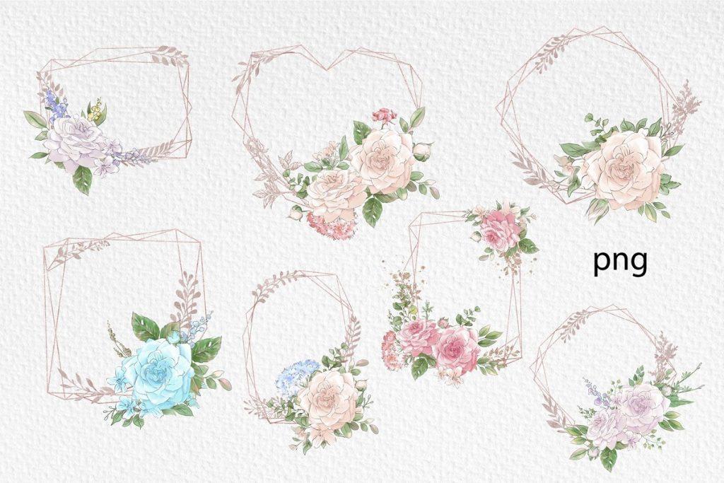 Spring Watercolor Illustrations:  Girls  + Free Bonus - $22 - 17
