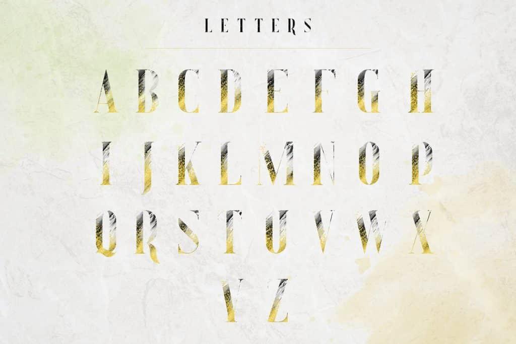 Sugar Spice Typography Bundle: fonts, frames, letters, backgrounds - 17 1 1