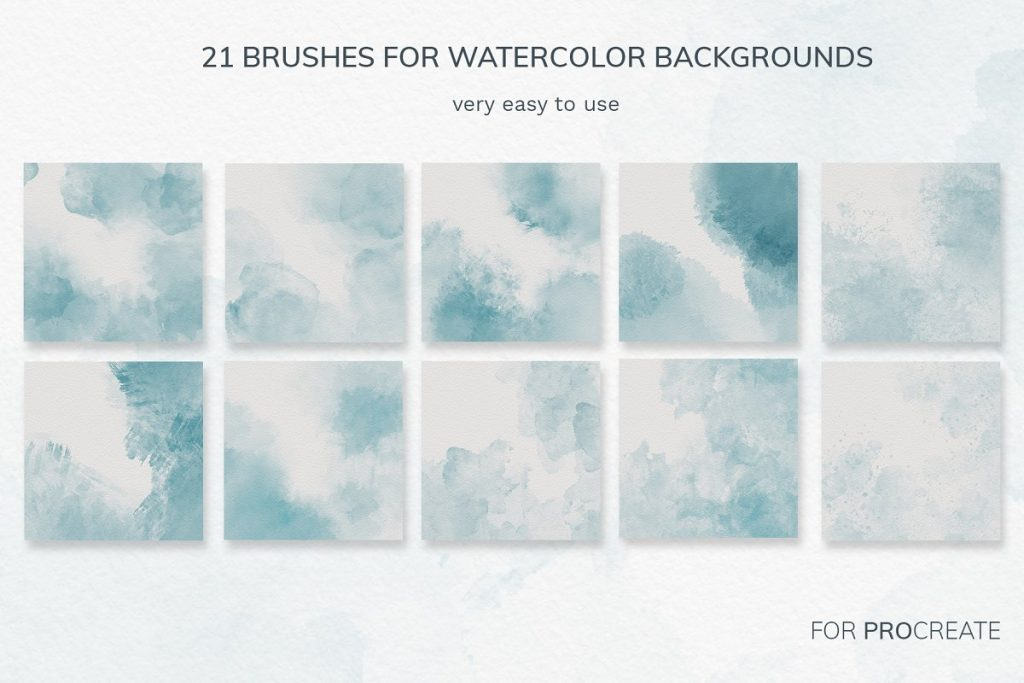 38 Procreate Watercolor Brush Set - $14 - 1 1