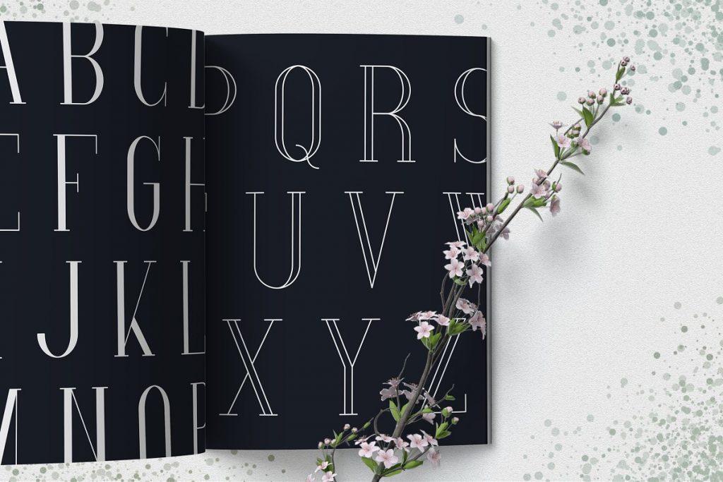 Spring Font with 30% OFF - SpringVibe Serif Font - 2