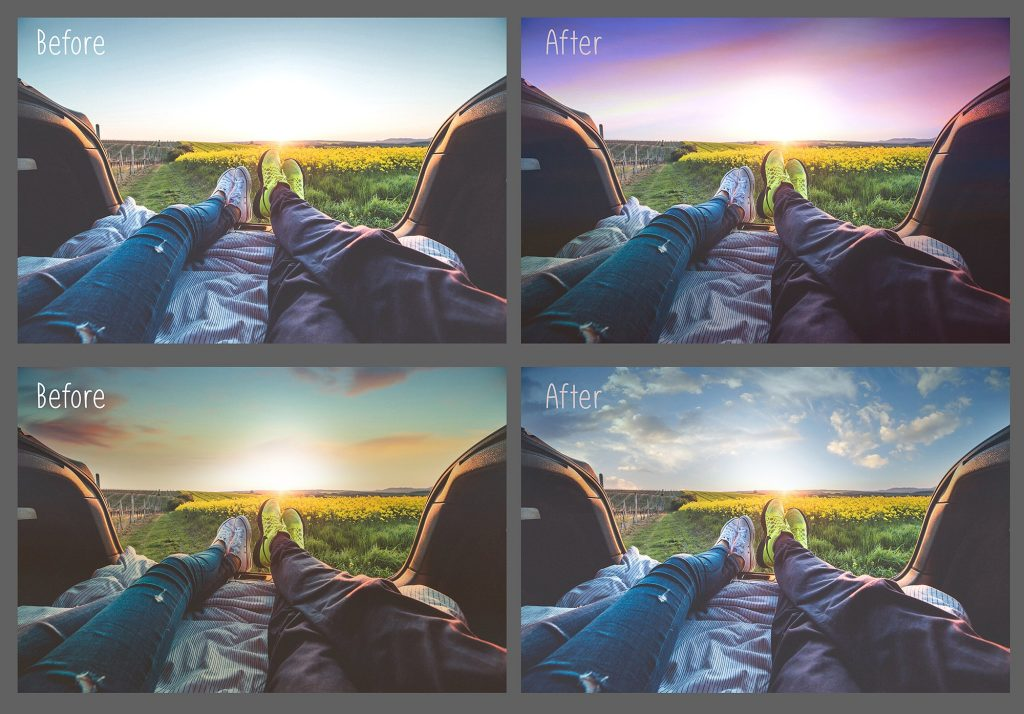 250 Sky Photoshop Add-Ons - $15 - 2 3
