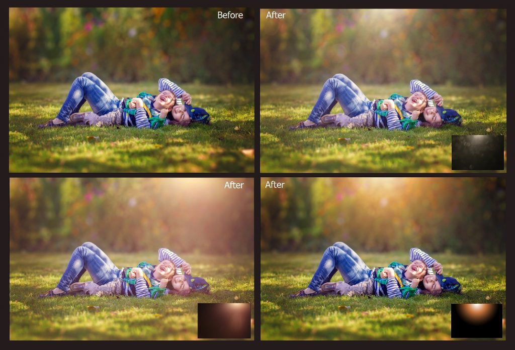 60 Natural Sunlight Photoshop Add-Ons $8 - 2