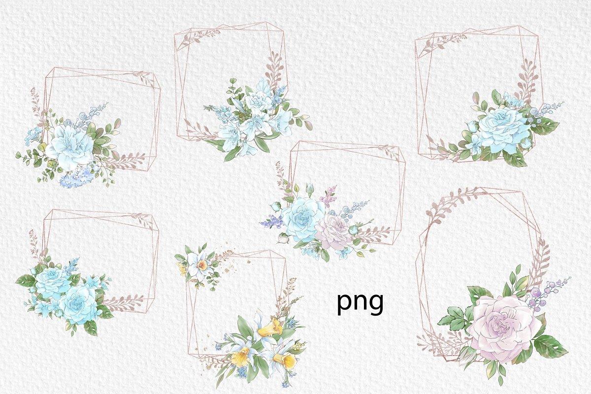 Spring Watercolor Illustrations:  Girls  + Free Bonus - $22 - 20