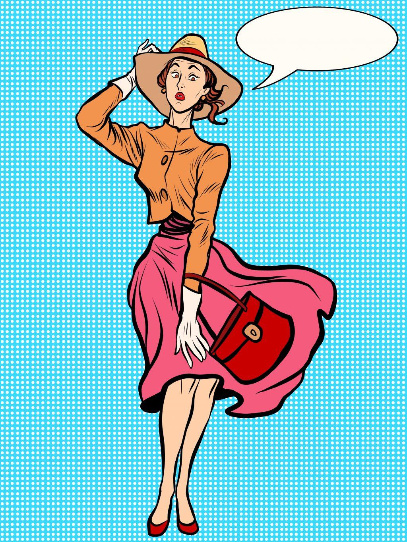 Fashion Illustration Bundle: Clothing Business Icons and illustrations - 21688374