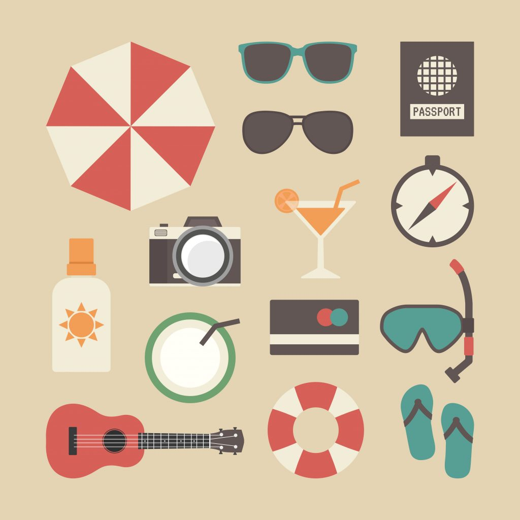 Travel Icon & Illustrations: Vacation Pack - $13 - 22338634