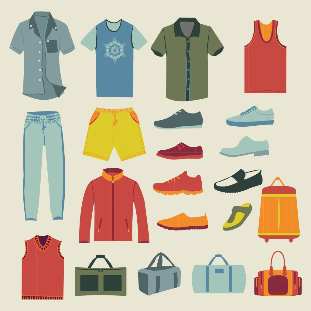 Fashion Illustration Bundle: Clothing Business Icons and illustrations - 22961866