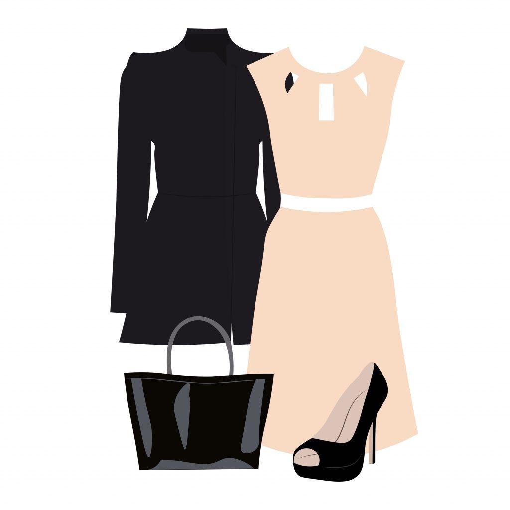 Fashion Illustration Bundle:  Clothing Business Icons and illustrations - 22977308