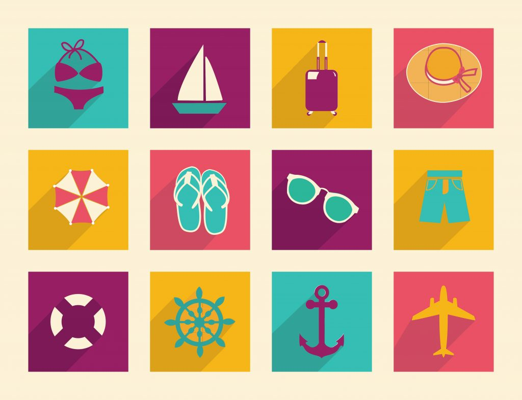 Travel Icon & Illustrations: Vacation Pack - $13 - 23150322